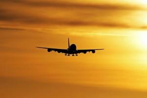 Avion décolle