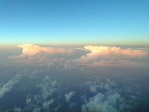 Cumulonimbus détectés par le radar météo
